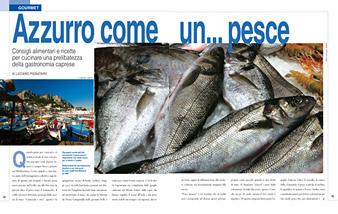 Azzurro Come Un Pesce Capri Review