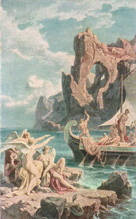Ulisse e le sirene versione