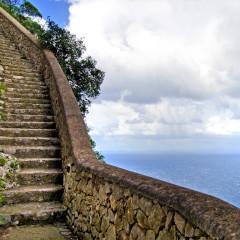 La scala nella roccia